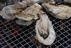 『戸石漁協』牡蠣焼